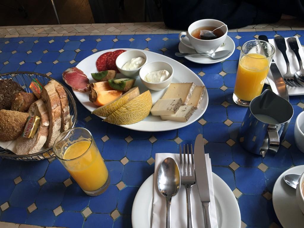 Dejlig morgenmad på Hotel Villa Provence. Superlove på inspirationstur