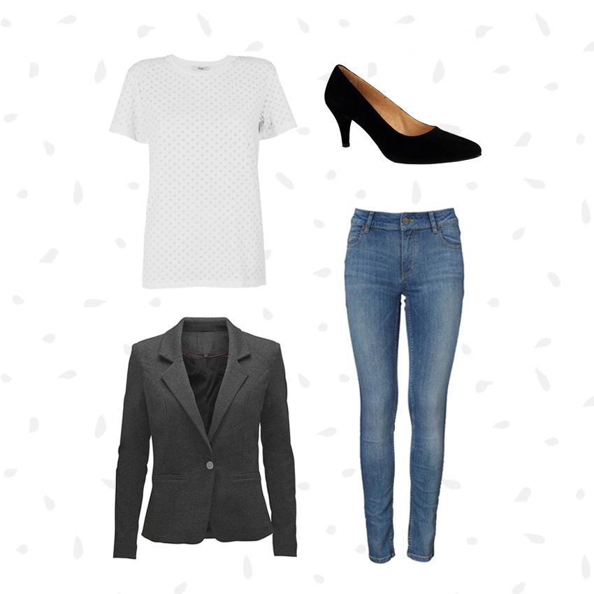 Go-to outfits - den perfekte kombination fra basisgarderoben