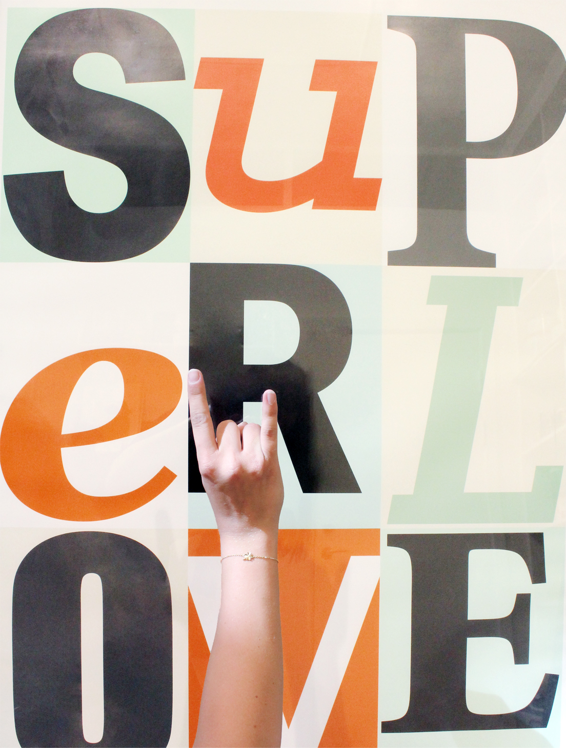 Superlove plakat