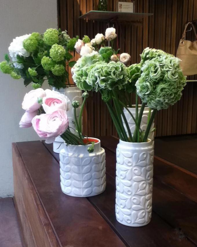Smukke Raised Stem vaser fra Orla Kiely