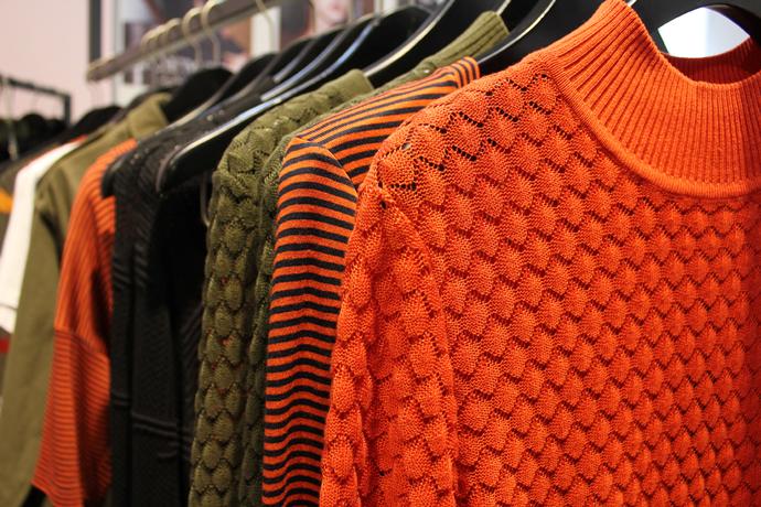 Storm og Marie præsenterede os igen for en forrygende kollektion på denne modemesse. Vi er vilde med de brændte farver blandet med cool army.
