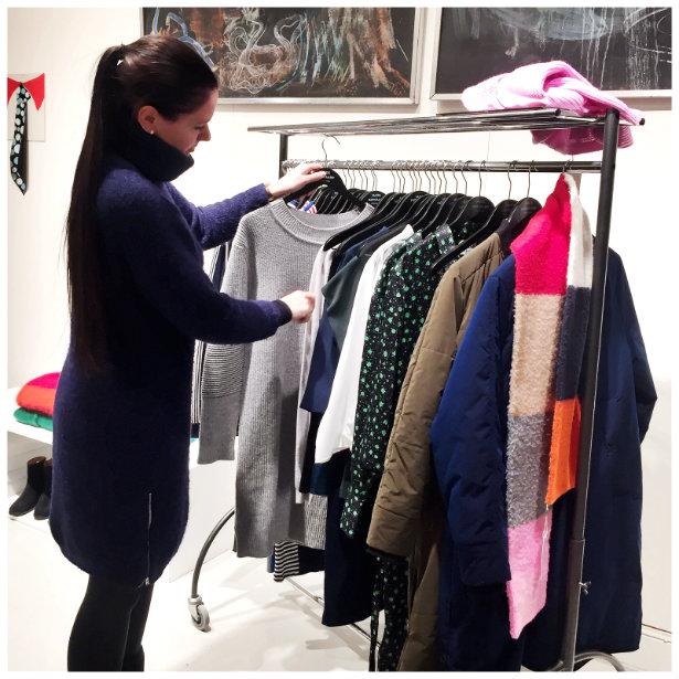Mads Norgaard indkøb showroom