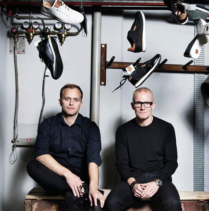 Woden sneakers grundlæggerne