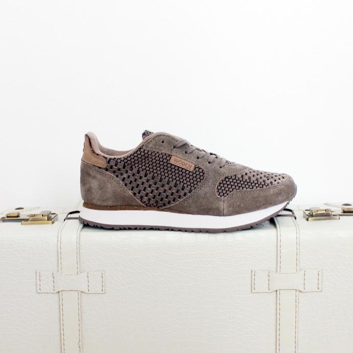 Ydun Weaved sneakers fra Woden