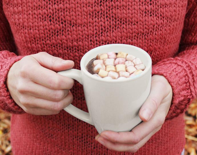 Varme tricks - hjemmelavet, varm chokolade