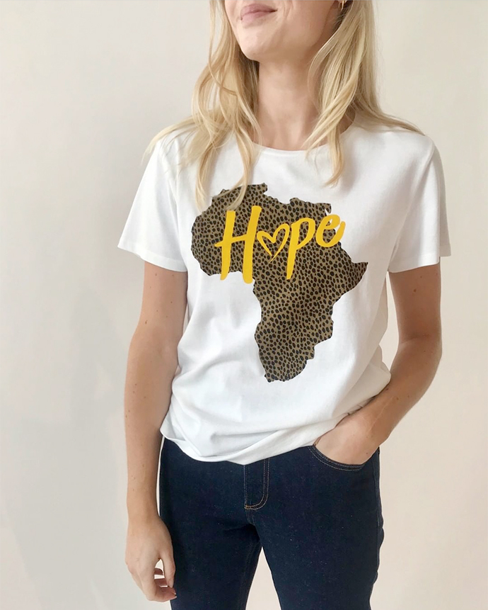 modstroem t-shirt charitee