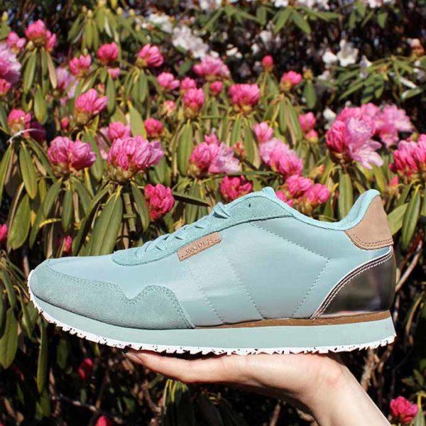 Woden sneakers aqua