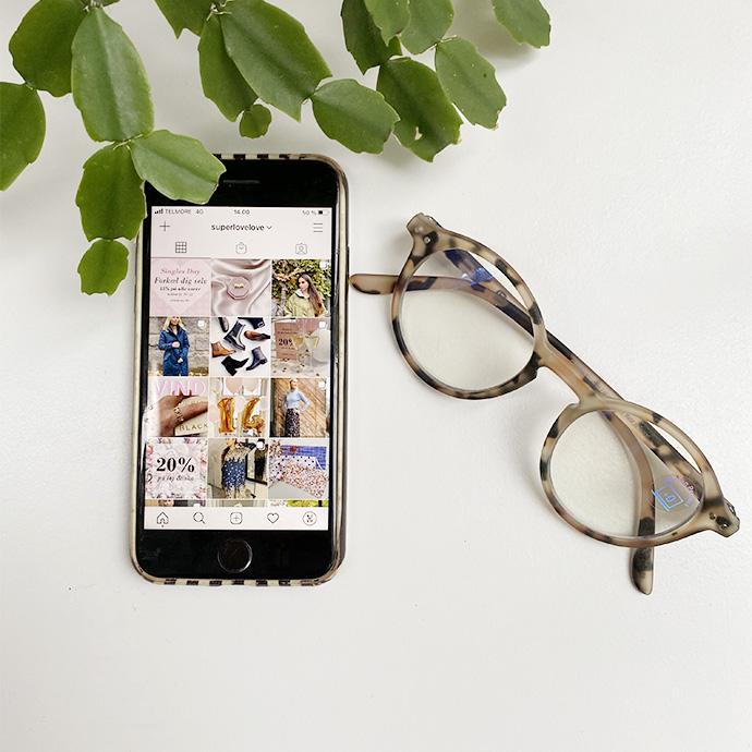 Skaermbriller til mobilen