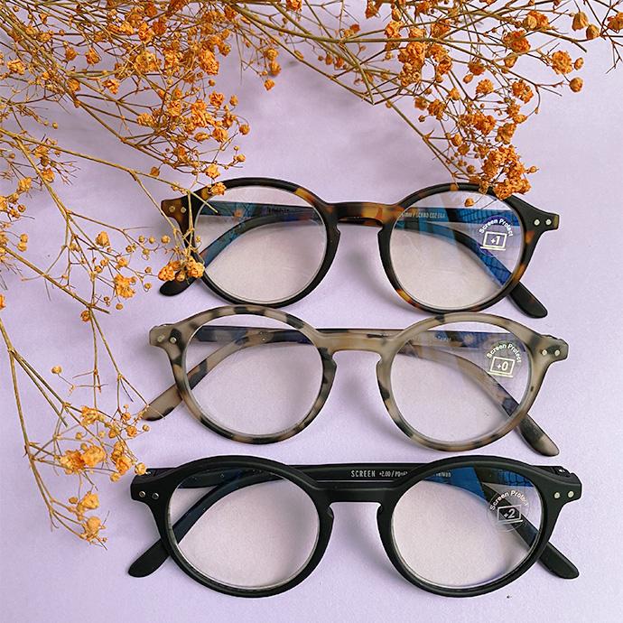 Skearmbriller uden styrke